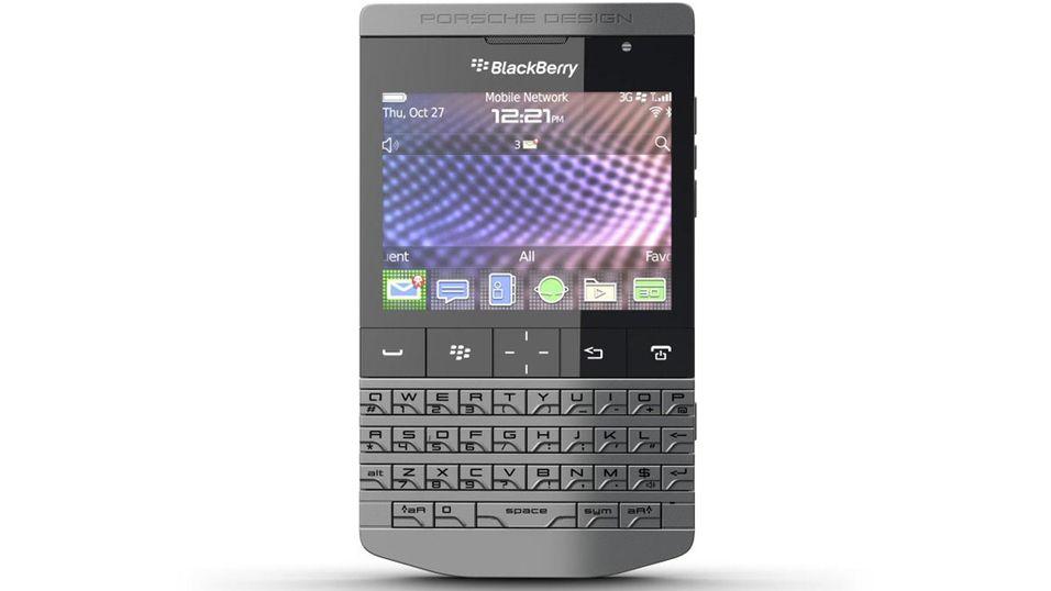 Den nye designtelefonen fra RIM koster tre ganger så mye som de kraftigste telefonene på markedet.