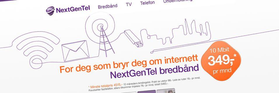 Innfører gebyr på bredbånd
