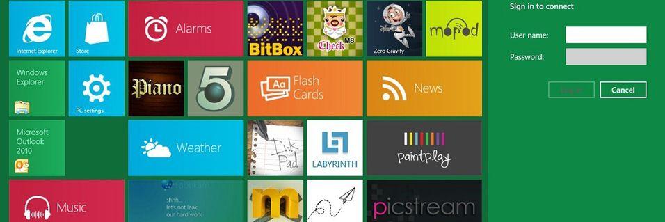 Kom lettere på nett med Windows 8