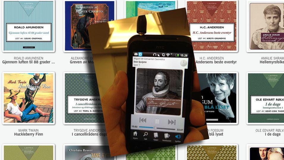 SNIKTITT: Nå kan du streame lydbøker gratis