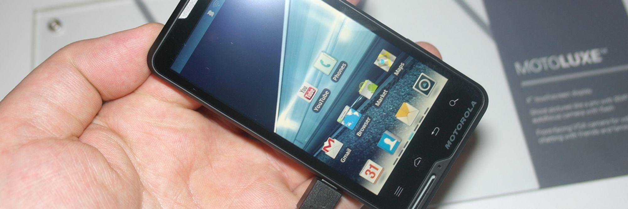 Les Slik er Motorolas nye designmobil