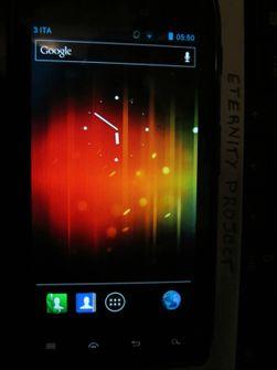 Motorolas ikoner har rukket å ta plass i den lekkede Android-utgaven.