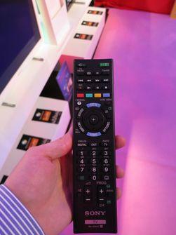 Den nye fjernkontrolleren skal være mindre enn forgjengeren.