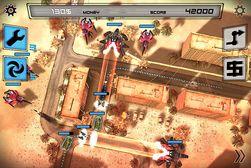 Anomaly beskrives som et omvendt tower defence-spill. Her må du lede en konvoi trygt gjennom forsvaret til fienden.