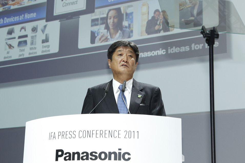 Mamoru Yoshida, senior visepresident i Panasonics AV-divisjon. Foto: Panasonic