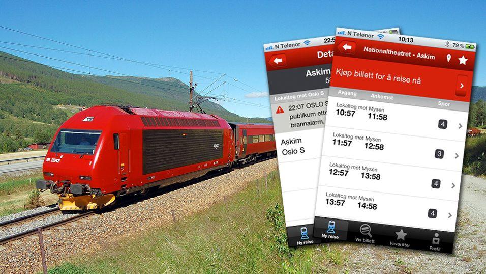 TEST: Kjøp togbilletten på mobilen