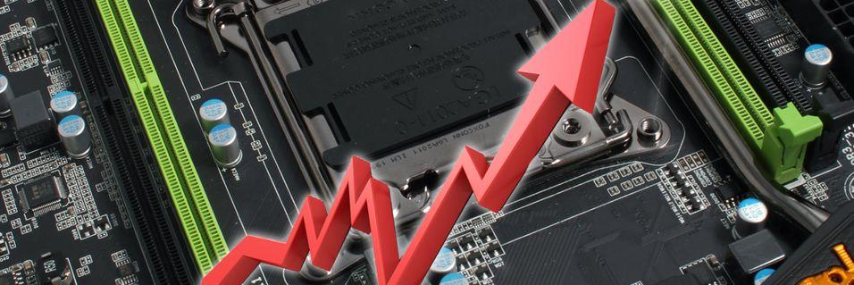 – Hovedkortprisene skal opp med ti prosent