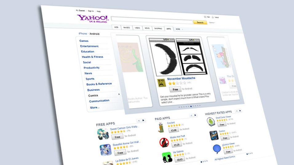 Yahoo! lanserer smart app-søk