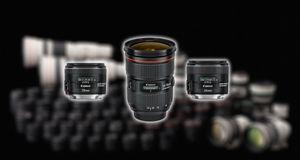 Heftig oppdatering av Canons EF-serie