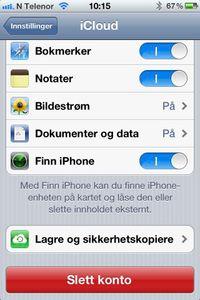 iPhone: Den enkleste måten å få bildene over til PC-en på, er ved å aktivere Bildestrøm.