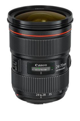 EF 24-70mm f/2.8L II USM.