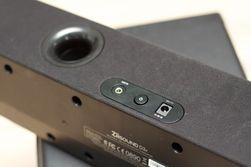 På baksiden av D3x finner du en 3,5 mm linjeinngang. (Foto: Kurt Lekanger)