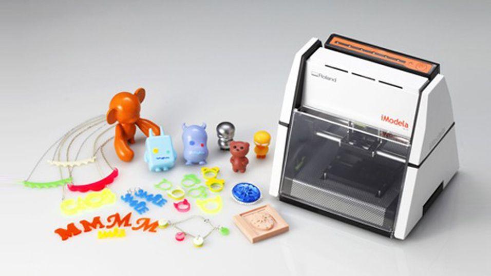 En slik 3D-«printer» har du ikke sett før