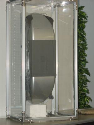Modell av heisen. Foto: Tech-On!