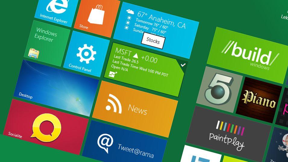 Alle Windows 8-nettbrett vil kjøre PC-programmer