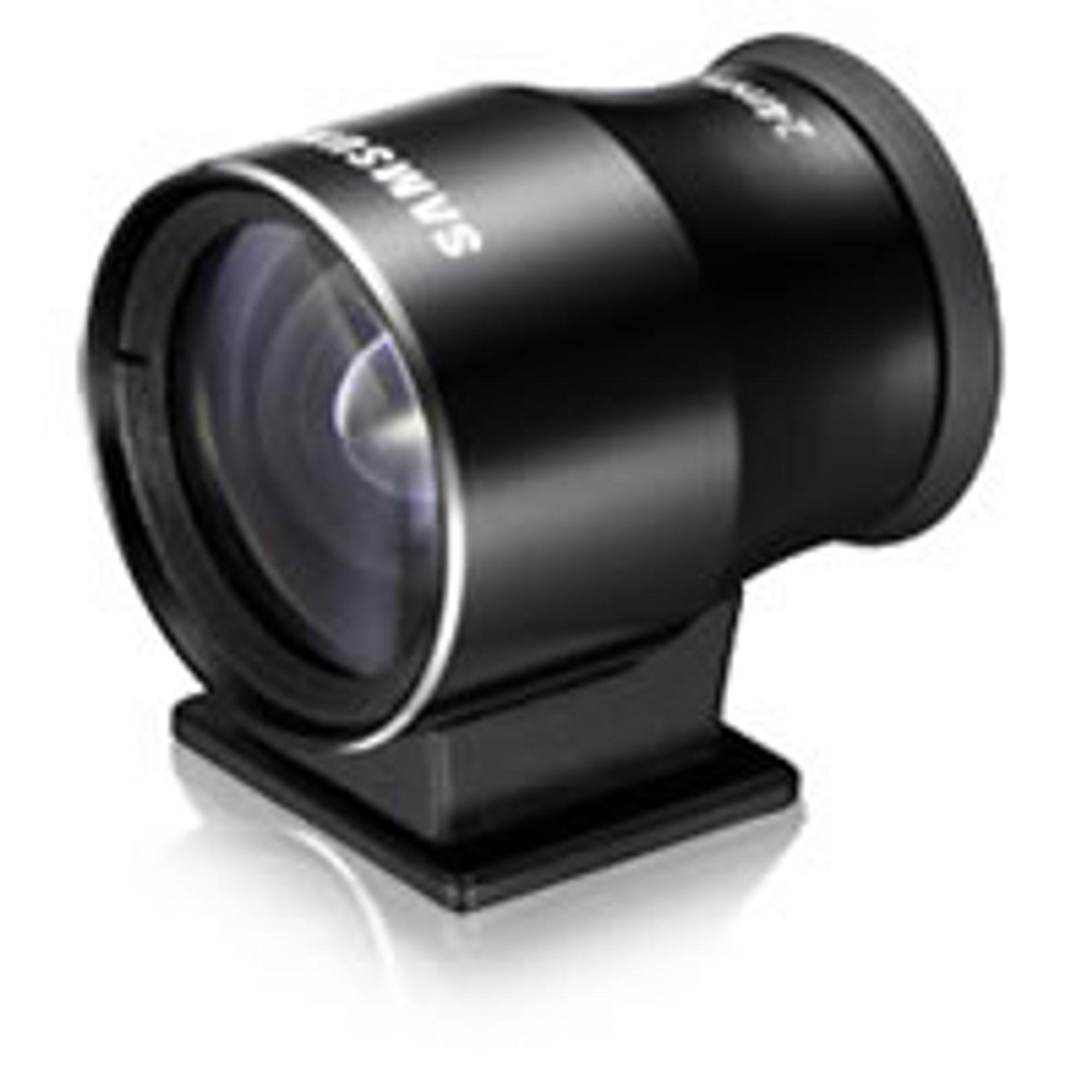 En optisk søker fra Samsung passer til 16mm F2.4.