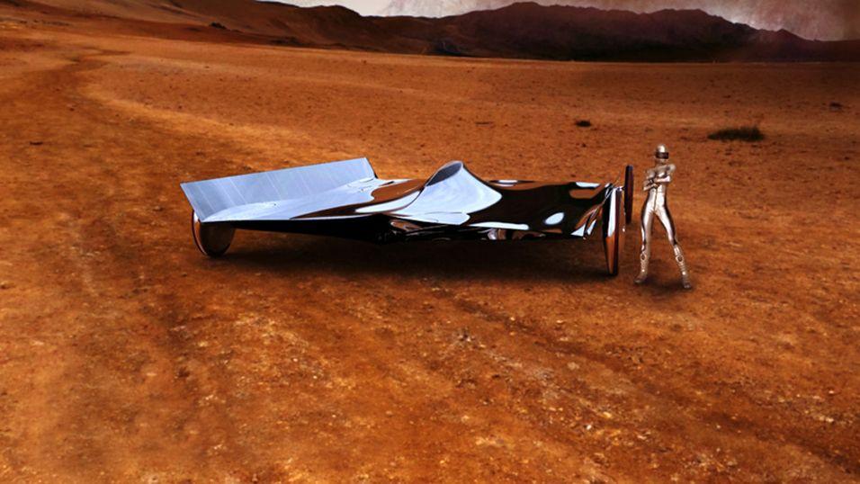 Se den sexy solcellebilen
