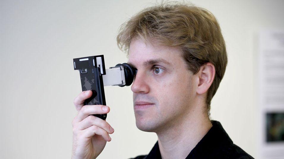 Nå kan du ta synstest med mobilen