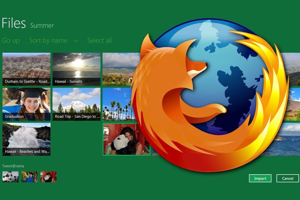 Firefox kommer i Metro-utgave
