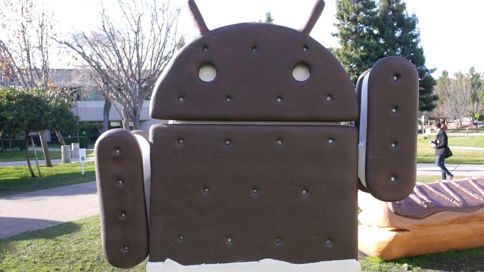 Googles operativsystem Android kan få nødvendig patenthjelp fra Motorola-kjøpet. (Foto: Finn Jarle Kvalheim)