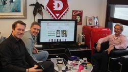 Harald Kristiansen, Mats Nevelius og Kenneth Hauge satser på et kult image.