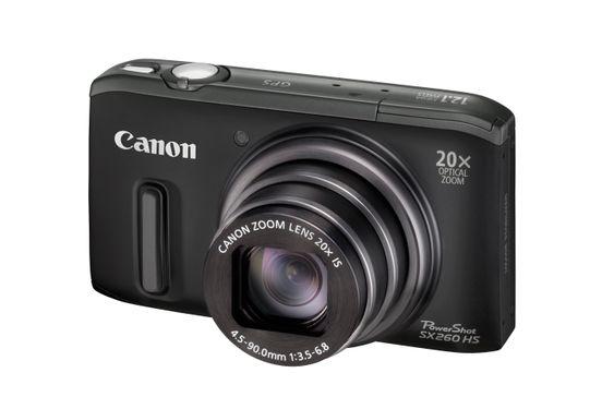 Canon PowerShot SX260 HS.