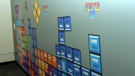 Minst én av de Google-ansatte har et forhold til Tetris. (Foto: Finn Jarle Kvalheim)