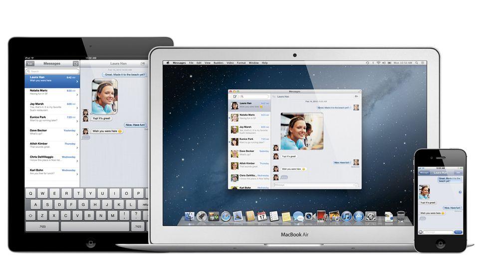 SNIKTITT: Nå kan du sende meldinger mellom iPhone, iPad og Mac