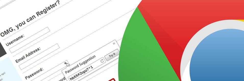 Fremtidens Chrome lager passordet for deg