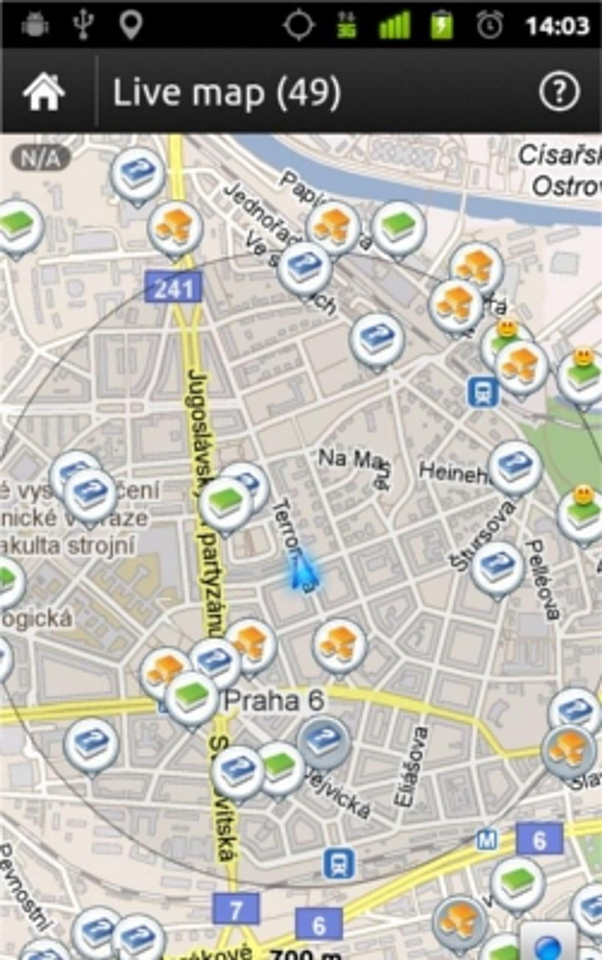 Også i sentrumsområder er det mange punkter å besøke.