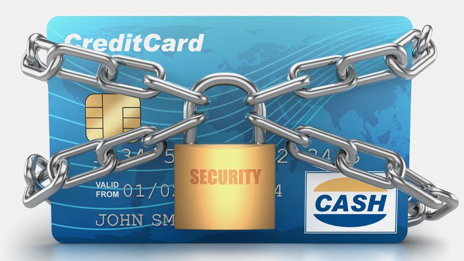 Skru av bankkortet ditt