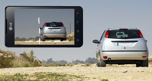 LGs nye 3D-telefon måler avstander