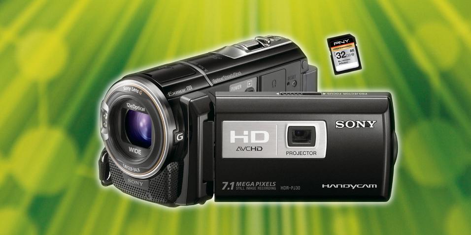 KONKURRANSE: Vinn hendig Sony-videokamera med projektor