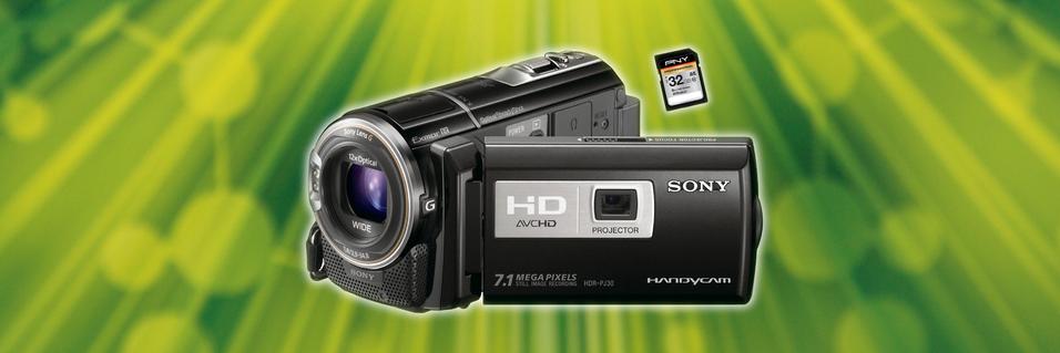 KONKURRANSE: Vant du videokamera med projektor?