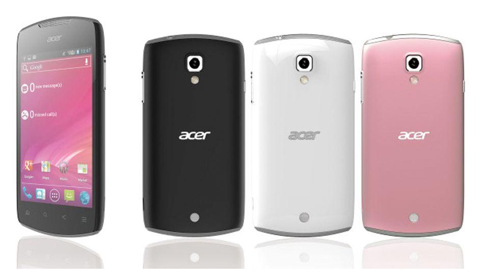 Acer annonserer Android 4-mobil før MWC
