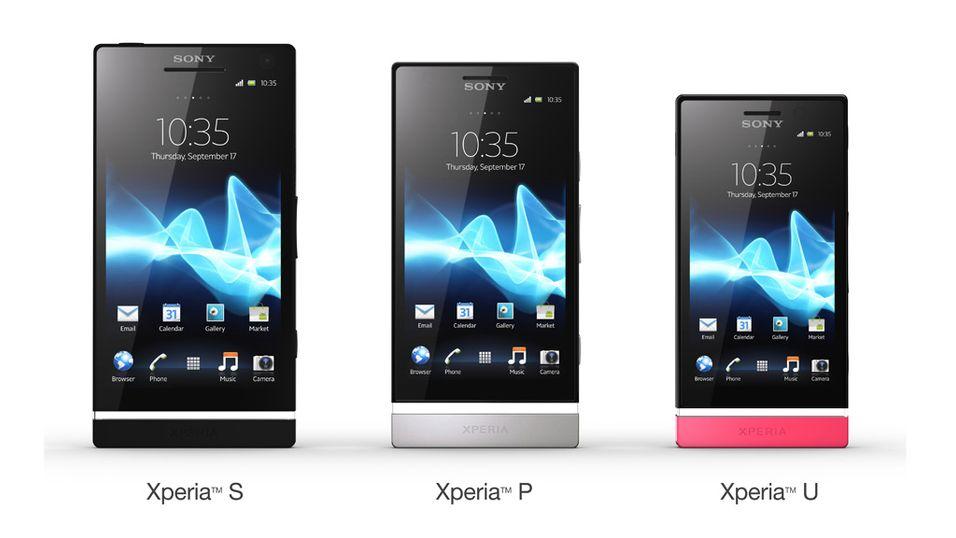 Sony lanserer Xperia U, S og  P