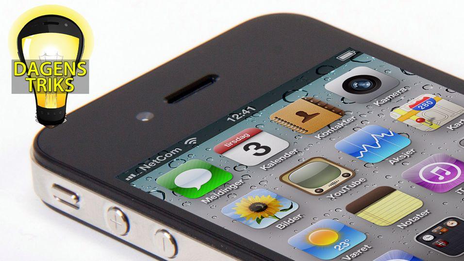 TIPS: Bytt raskere mellom apper