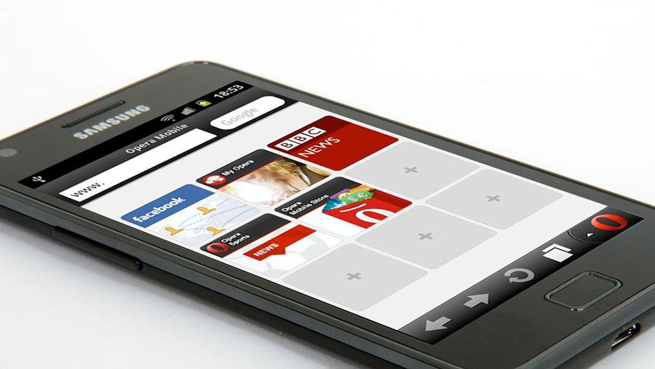 Opera med 3D-støtte i mobilnettleseren