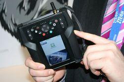 Denne dingsen kan brukes under krevende forhold. Neste versjon vil være på størrelse med en mobiltelefon.