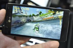 Spilling på Optimus 4X HD er en svært trivelig og underholdende affære.