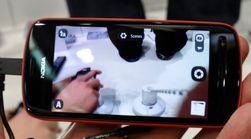 Slik ser kameraappen ut. Du skal kunne zoome inn ganske betydelig før det går ut over kvaliteten. På mobilskjermen ser det ut til å stemme.