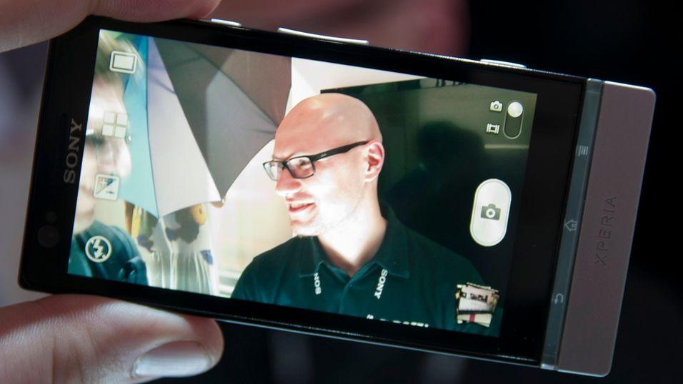 SNIKTITT: Denne mobilen fungerer i solen