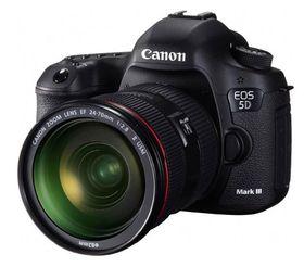 Hovedvinneren stikker av med et Canon EOS 5D Mark III.