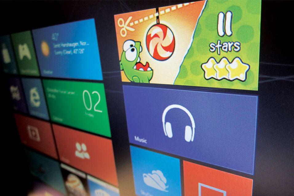 Applikasjonene på startskjermen har vært ganske begrenset. Det skal Microsoft fikse på før lanseringen av Windows 8.