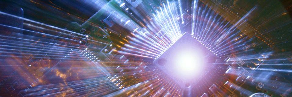 Bygger datahukommelse med lys