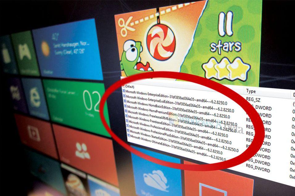 Windows 8 kan komme i hele ni versjoner
