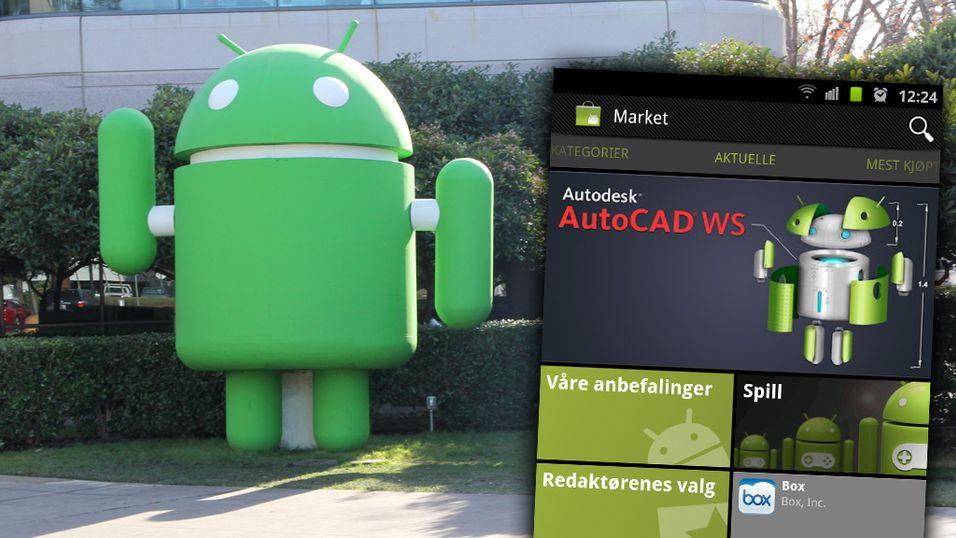 Endelig klart for digre Android-apper