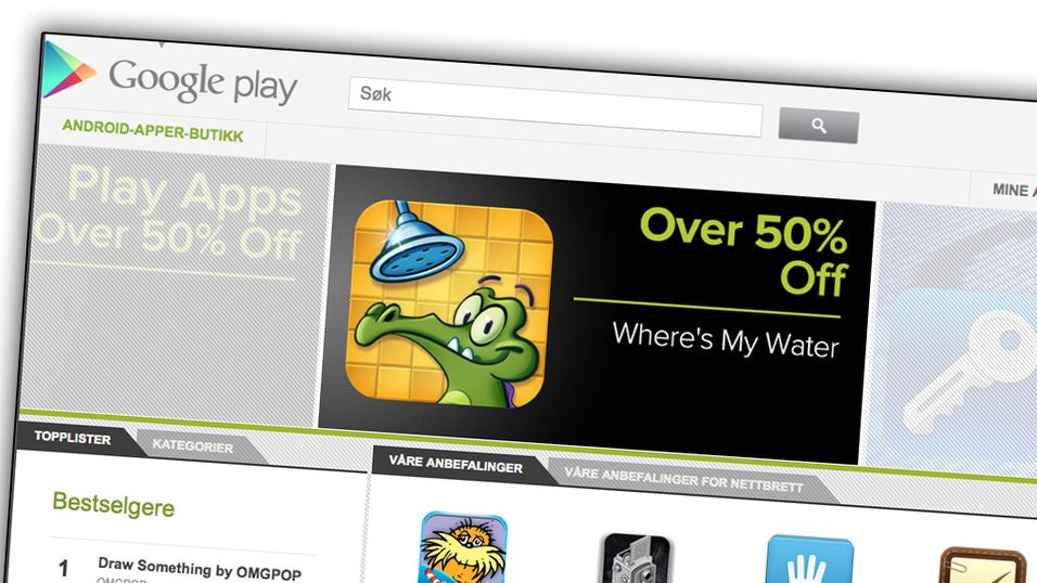 Android Market blir Google Play
