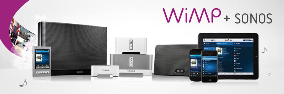 Nå får du WiMP på Sonos