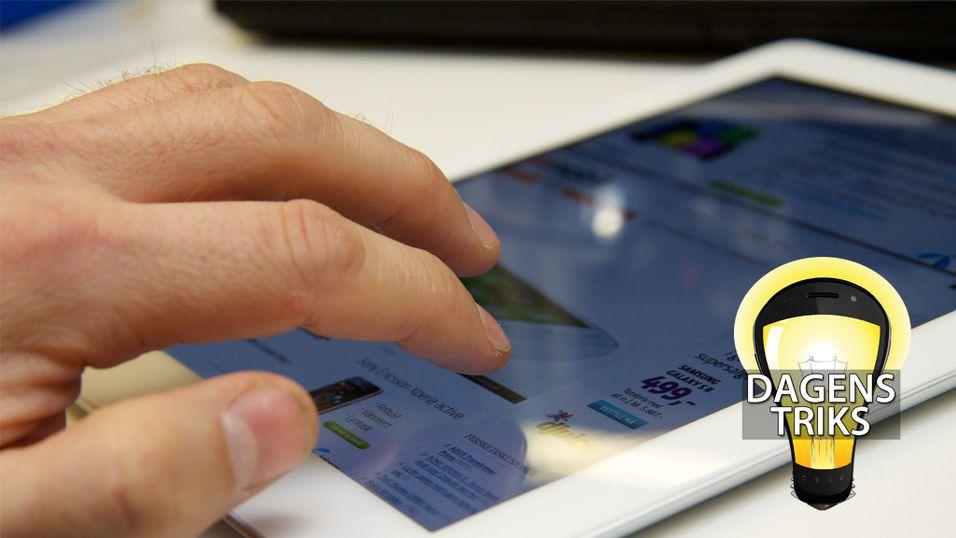 Kan du alle iPad-fingerbevegelsene?
